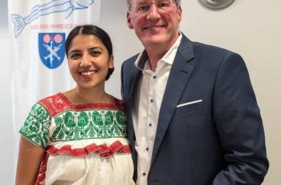Tatiana Herda Muñoz und Michael Ebling